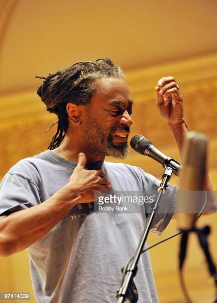 Bobby McFerrin attends the Music Of The Who at Carnegie Hall rehearsals on March 2 2010 in New York City