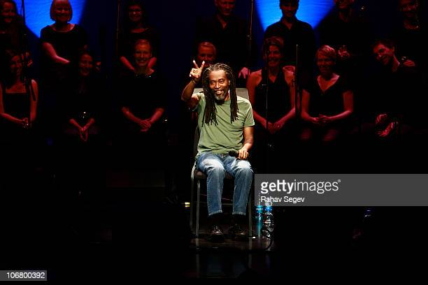 Bobby McFerrin performs at Rose Hall Jazz at Lincoln Center on November 12 2010 in New York City