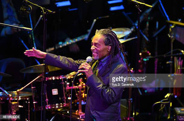 Bobby McFerrin performs during The Nearness Of You Benefit Concert at Frederick P Rose Hall Jazz at Lincoln Center on January 20 2015 in New York City