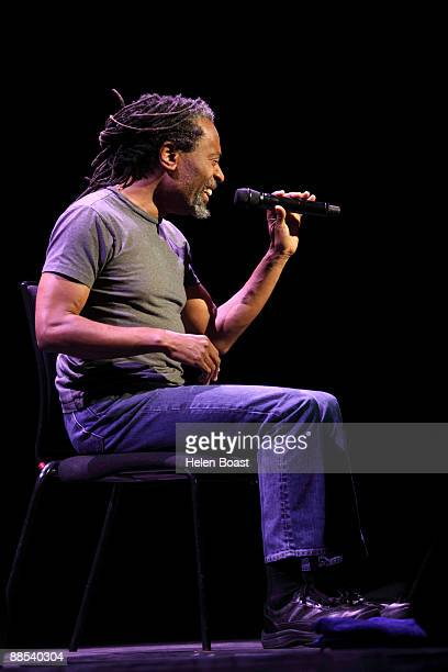 Bobby McFerrin performs on stage at the Royal Festival Hall on June 17 2009 in London England