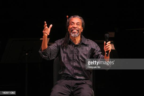 Bobby McFerrin with Orchestra of St Luke's at Carnegie Hall on Sunday afternoon April 6 2008This imageBobby McFerrin conducting audience members...