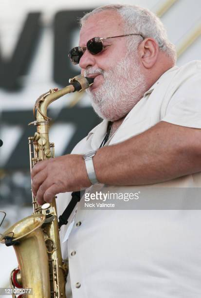 Bobby Militello during JVC Newport Jazz Festival 2006 at Fort Adams State Park in Newport RI United States