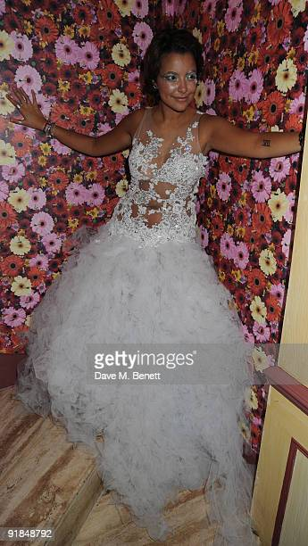 Bobby Monteverde's 18th birthday party celebrated with some help from her friends and family at the Wellington Club in Knightsbridge London on...