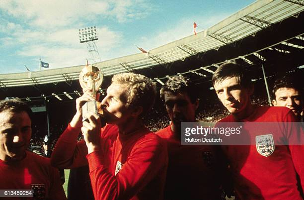 Bobby Moore With The World Cup 1966