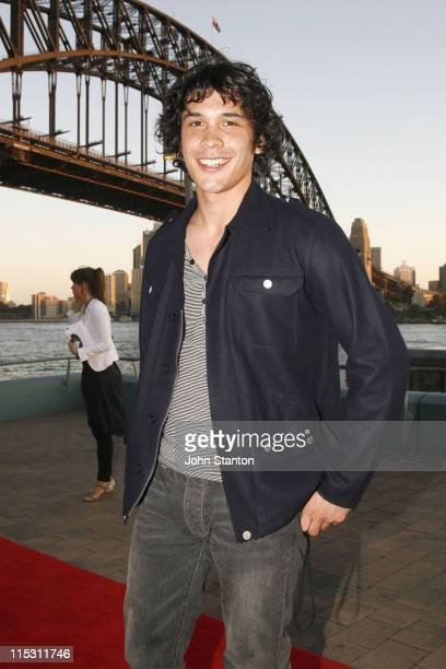Bobby Morley during Dolly Teen Choice Awards Arrivals at Luna Park Big Top in Sydney NSW Australia