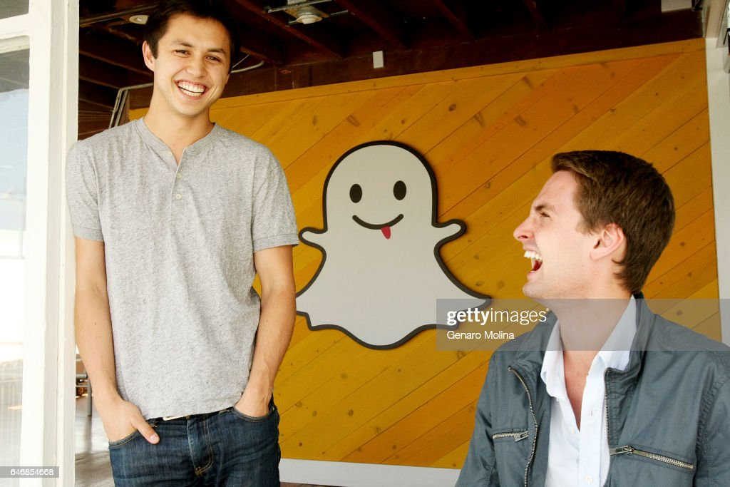 Bobby Murphy and Evan Spiegel, co-creators of Snapchat, are photographed at the company's offices in Venice for Los Angeles Times on May 6, 2013 in Venice, California. PUBLISHED IMAGE.