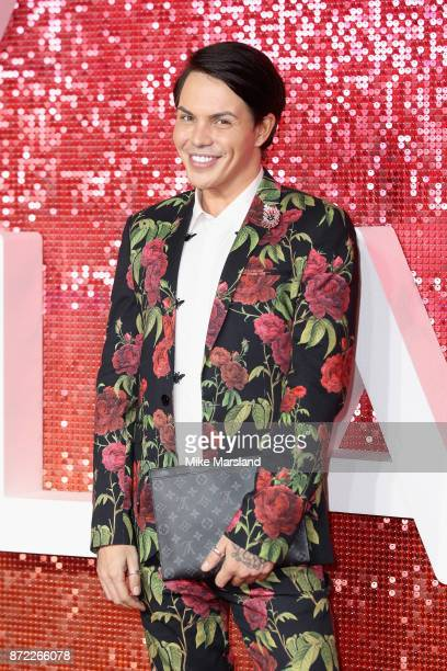 Bobby Norris arrives at the ITV Gala held at the London Palladium on November 9 2017 in London England