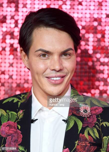 Bobby Norris attends the ITV Gala at the London Palladium on November 9 2017 in London England