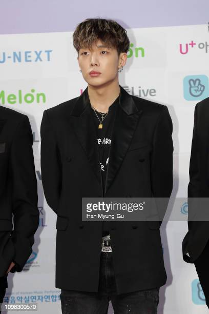Bobby of boy band iKON attends the 8th Gaon Chart K-Pop Awards on January 23, 2019 in Seoul, South Korea.