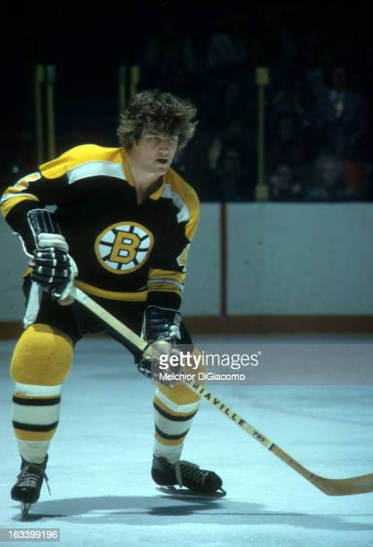 Bobby Orr of the Boston Bruins skates on the ice during an NHL game circa 1973