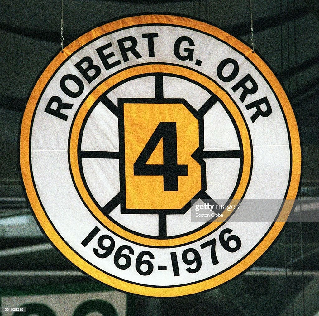 Bobby Orr's Retired Number Banner Is Pictured At The Fleet