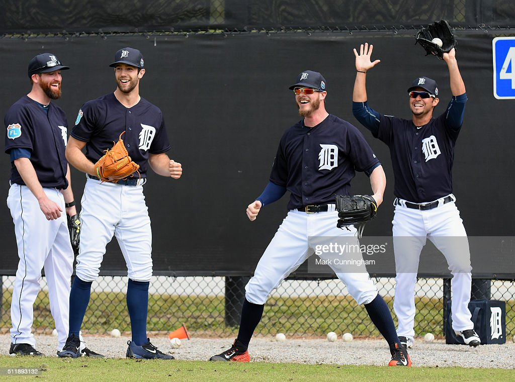 Detroit Tigers Workout