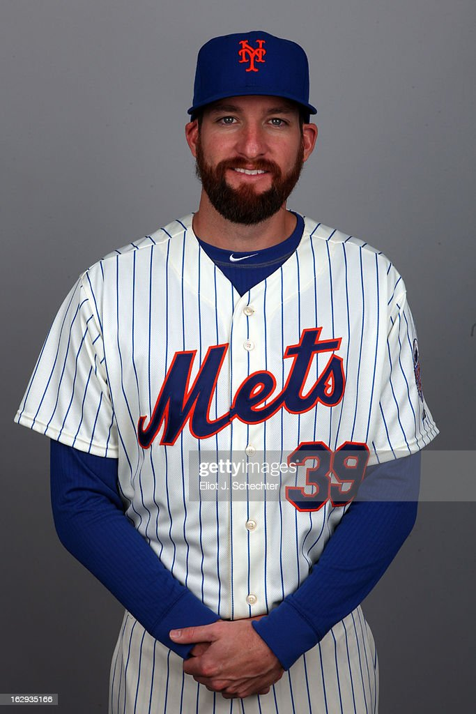 Bobby Parnell #39 of the New York Mets poses during Photo Day on February 21, 2013 at Mets Stadium in Port St. Lucie, Florida.