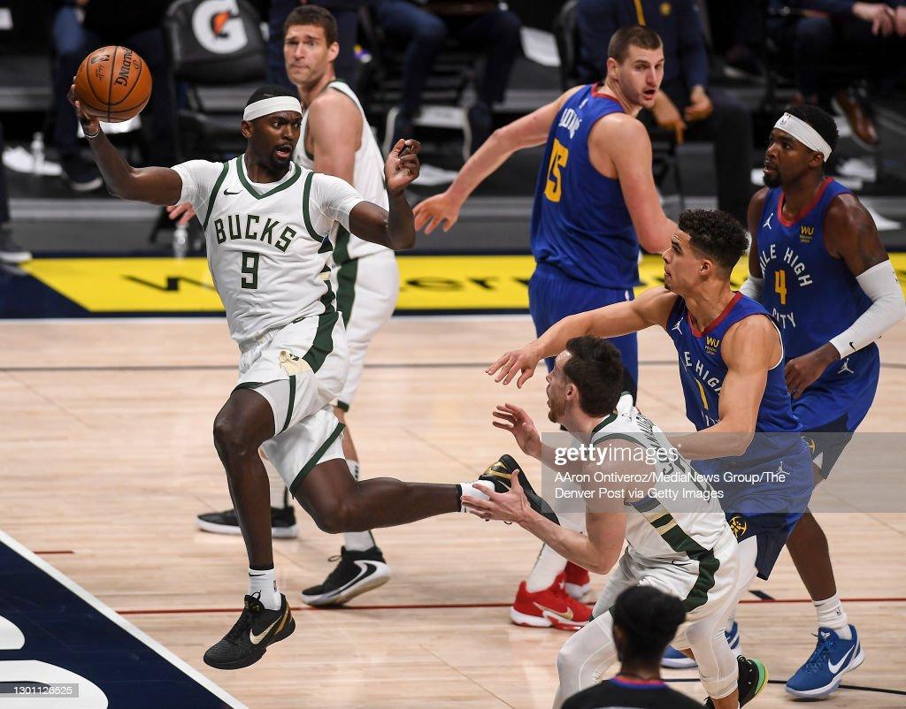 DENVER NUGGETS VS MILWAUKEE BUCKS, NBA : News Photo