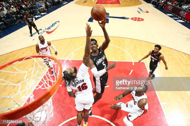 Bobby Portis of the Washington Wizards shoots the ball against the Miami Heat on March 23 2019 at Capital One Arena in Washington DC NOTE TO USER...