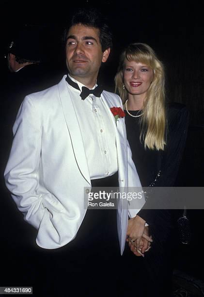 Bobby Poynton and Amy StockPoynton attend 32nd Annual Thalians Ball on October 17 1987 at the Century Plaza Hotel in Century City California