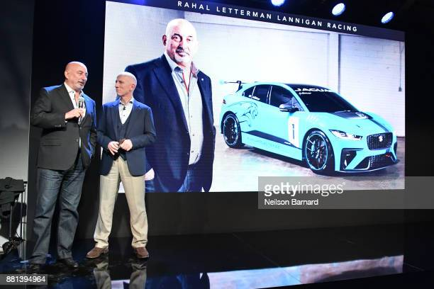 Bobby Rahal and John Edwards Managing Director Jaguar Landrover Special Vehicle Operations Division at an exclusive customer preview which introduced...