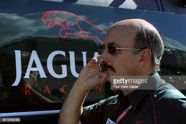 Bobby Rahal Grand Prix of Austria Red Bull Ring 13 May 2001 Bobby Rahal Jaguar Formula 1 team manager