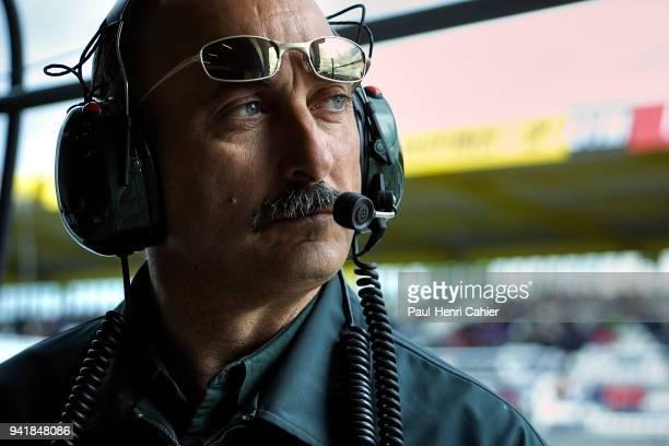 Bobby Rahal Grand Prix of Europe Nurburgring 24 June 2001 Bobby Rahal Jaguar Formula 1 team manager