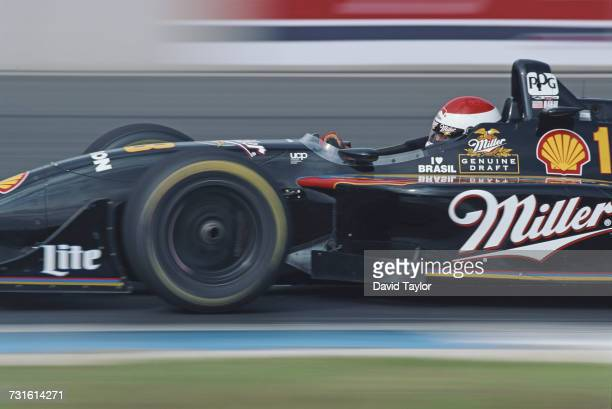 Bobby Rahal of the United States drives the MillerTeam Rahal Reynard 96i MercedesBenz IC108C V8t during the Championship Auto Racing Teams 1996 PPG...