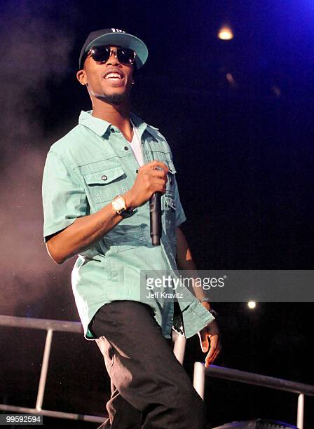 Bobby Ray of BoB performs at KIIS FM's 2010 Wango Tango Concert at Nokia Theatre LA Live on May 15 2010 in Los Angeles California