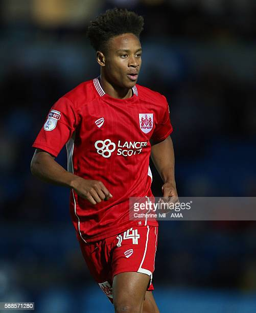 Bobby Reid of Bristol City during the EFL Cup match between Wycombe Wanderers and Bristol City at Adams Park on August 8 2016 in High Wycombe England