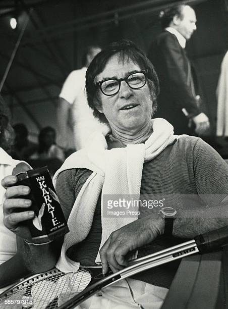 Bobby Riggs circa 1973 in Forest Hills Queens