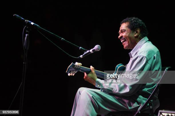 Bobby Rush entertains at GRAMMY Museum Mississippi on March 16 2018 in Cleveland Mississippi