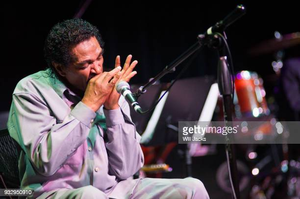 Bobby Rush performs at GRAMMY Museum Mississippi on March 16 2018 in Cleveland Mississippi