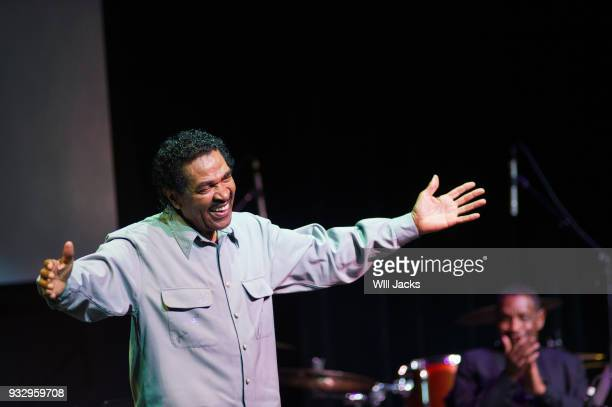 Bobby Rush thanks the audience at GRAMMY Museum Mississippi on March 16 2018 in Cleveland Mississippi