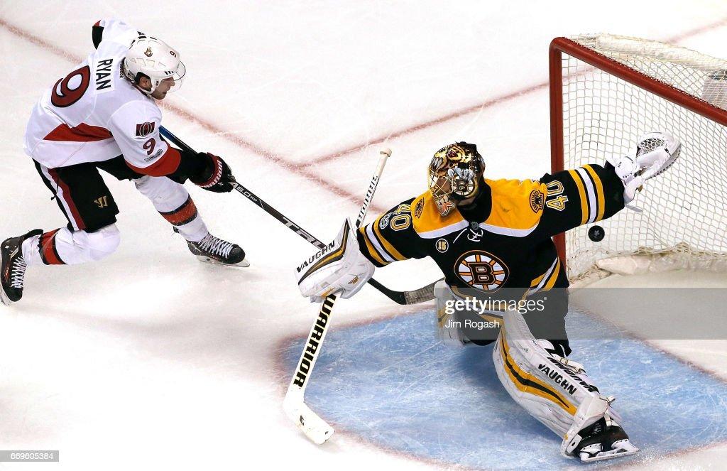 Ottawa Senators v Boston Bruins - Game Three : News Photo