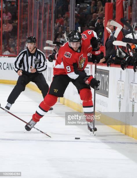 Bobby Ryan of the Ottawa Senators skates against the Philadelphia Flyers at Canadian Tire Centre on October 10 2018 in Ottawa Ontario Canada