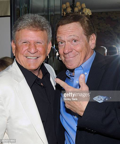 Bobby Rydell and Joe Piscopo attend the Bobby Rydell 'Teen Idol On The Rocks A Tale Of Second Chances' Book Release And Birthday Party at Patsy's...