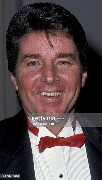 Bobby Sherman attends 100th Episode Party for Murder She Wrote on February 12 1989 at the Biltmore Hotel in Los Angeles California