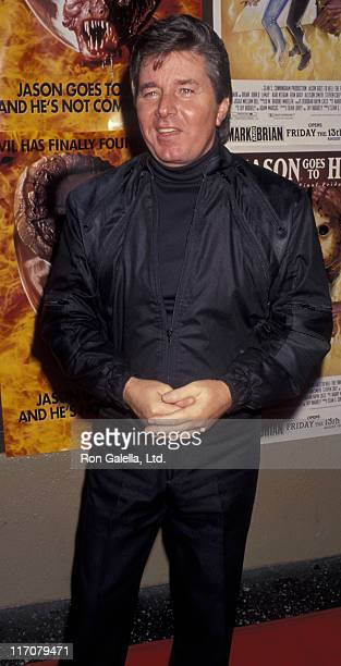 Bobby Sherman attends the premiere of Jason Goes To Hell The Final Friday on August 12 1993 at Mann Chinese Theater in Hollywood California