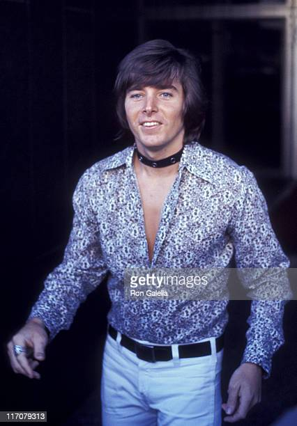 Bobby Sherman attends the rehearsals for 50th Anniversary Gala for Motion Picture and Television Relief Fund on June 13 1971 at the Los Angeles Music...