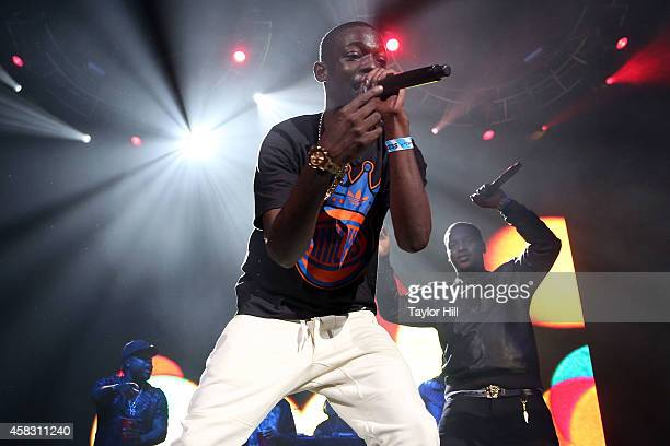 Bobby Shmurda performs during Power 1051's Powerhouse 2014 at Barclays Center on October 30 2014 in New York City