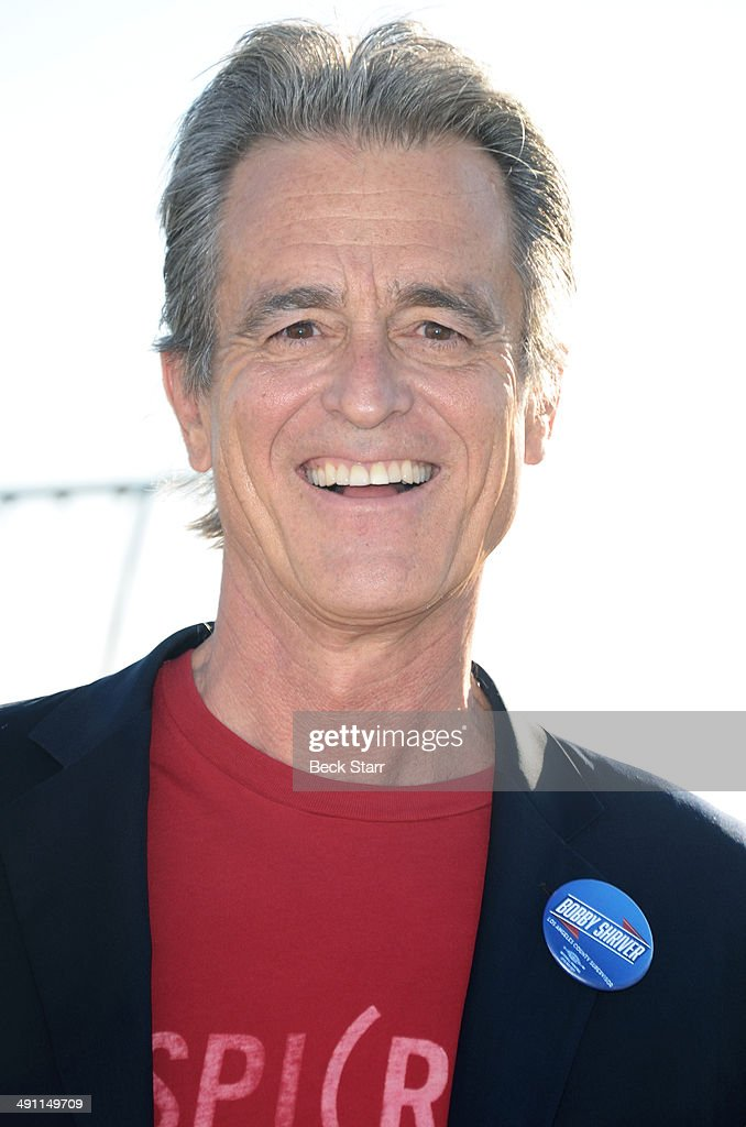 Bobby Shriver arrives at Heal The Bay 'Bring Back The Beach' fundraiser at The Jonathan Club on May 15, 2014 in Santa Monica, California.
