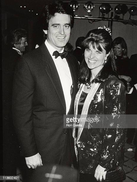 Bobby Shriver Maria Shriver during 'An Evening With Willy Bogner' to Support Special Olympics at Beverly Hills Hotel in Beverly Hills California...