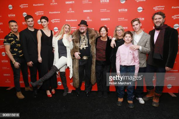 Bobby Strauser Conrad Homm Tiffany Masters Limo Bob Patricia Greenfield director Lauren Greenfield Gabriel Evers Noah Evers and producer Frank Evers...