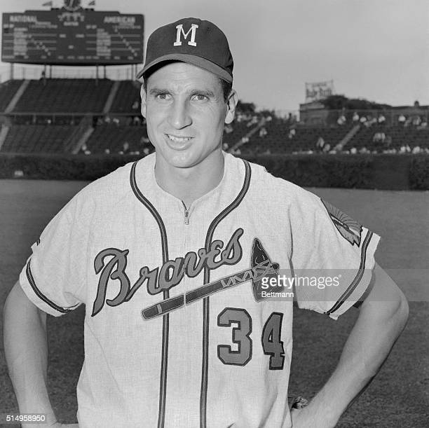Bobby Thomson of the Milwaukee Braves