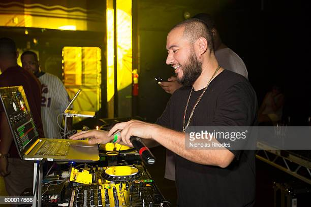 DJ Bobby Trends performs at House Party NYC at Webster Hall on August 6 2015
