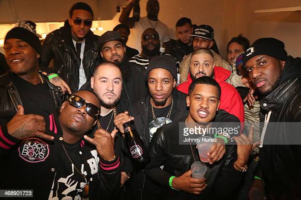 Last night, Rick Ross girlfriend Ming Lee posted a group photo that included Rozay, Wale, Meek, and Nicki.