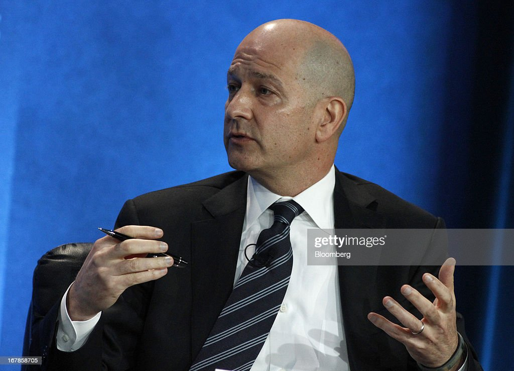 Bobby Turner, chairman and chief executive officer of Canyon Capital Realty Advisors, speaks at the annual Milken Institute Global Conference in Beverly Hills, California, U.S., on Monday, May 1, 2013. The conference brings together hundreds of chief executive officers, senior government officials and leading figures in the global capital markets for discussions on social, political and economic challenges. Photographer: Jonathan Alcorn/Bloomberg via Getty Images