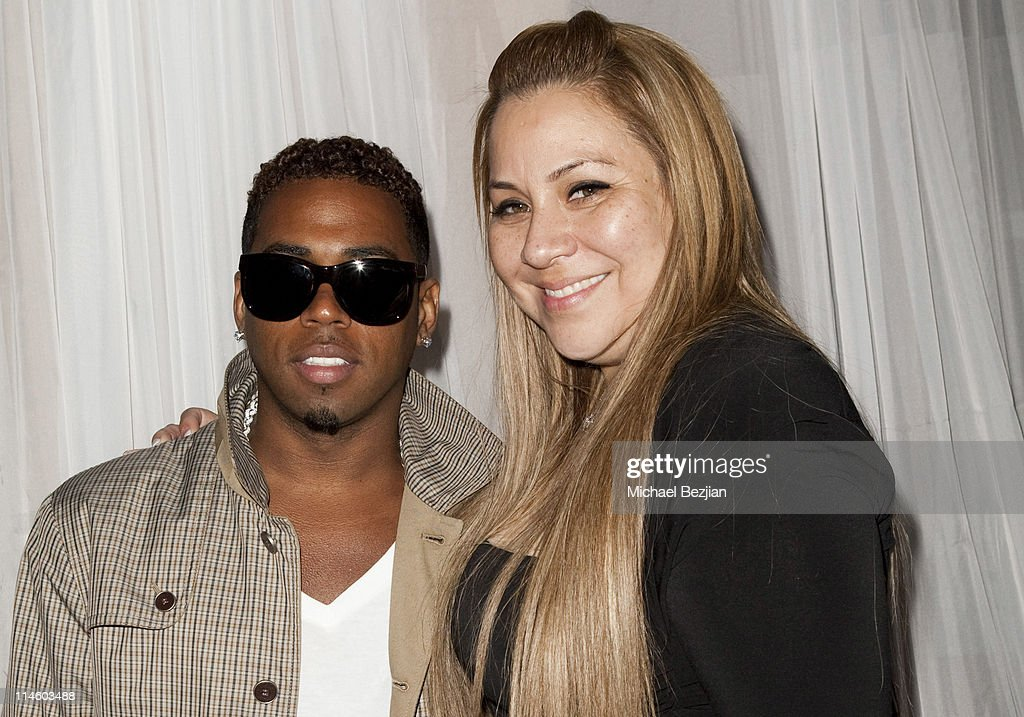 Bobby V and Diana Lopez at Diana Lopez Birthday Celebration on May 22, 2010 in Los Angeles, California.