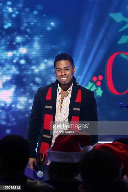 Bobby V performs on BET's '106 Park' at BET Studios on December 19 2013 in New York City