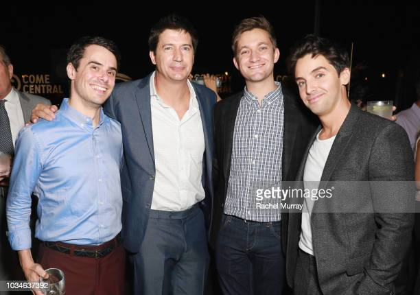 Bobby Vance Ken Marino Chris Kelly and Paul W Downs attend Comedy Central's Emmys Party at The Highlight Room at the Dream Hotel on September 16 2018...