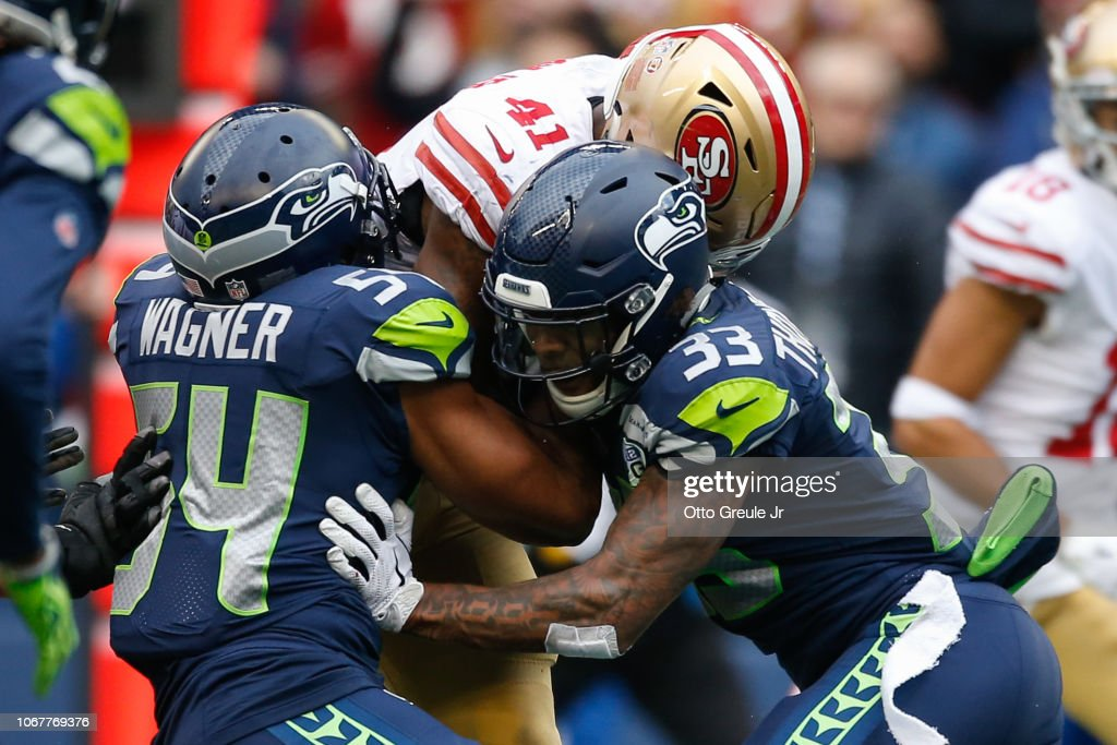 San Francisco 49ers v Seattle Seahawks : News Photo
