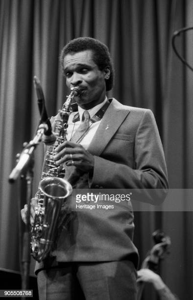 Bobby Watson Shaw Theatre London March 1985 Artist Brian O'Connor