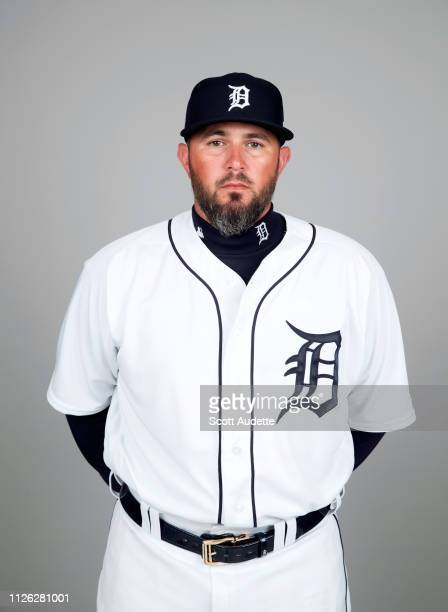 Bobby Wilson of the Detroit Tigers poses during Photo Day on Tuesday February 19 2019 at Publix Field at Joker Marchant Stadium in Lakeland Florida